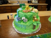 Jungle Cake - this is the third one of these I've done.