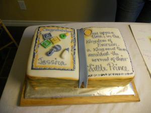 baby book cake