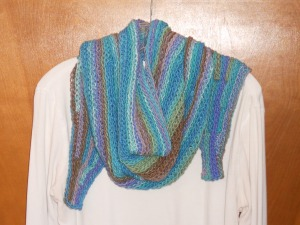 slip stitch shawl