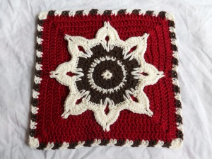 """julie yeager, crochet, 12"""" square"""