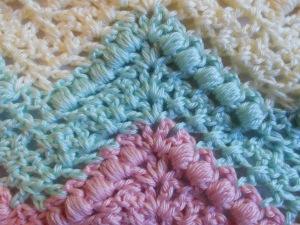 ripple afghan puff stitch