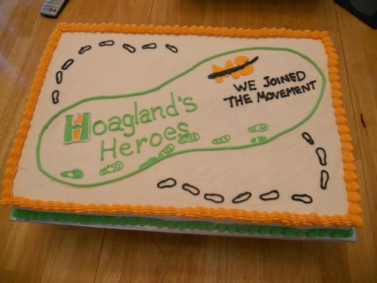 MS (Multiple Sclerosis) Cake for the Hoagland Pharmacy