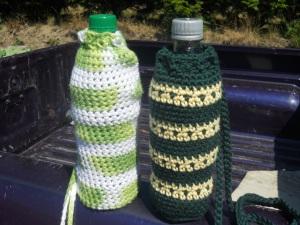 water bottle carrier crochet