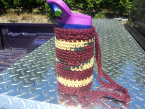 water bottle carrier crochet