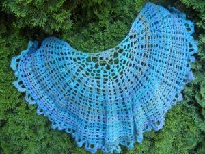 tranquil seas shawl crochet