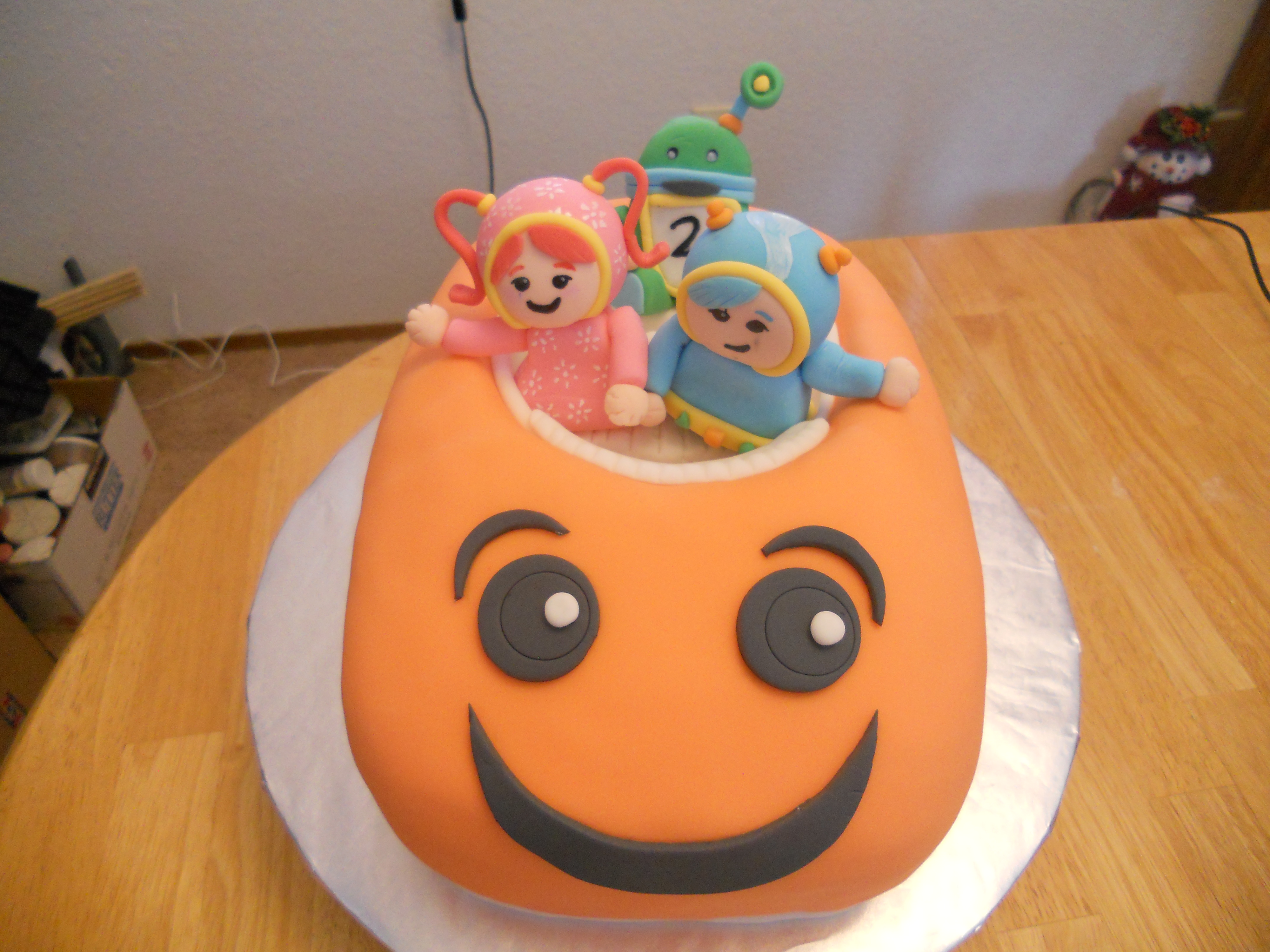 Awesome Team Umizoomi Cake A Little Of This And A Little Of That Personalised Birthday Cards Arneslily Jamesorg