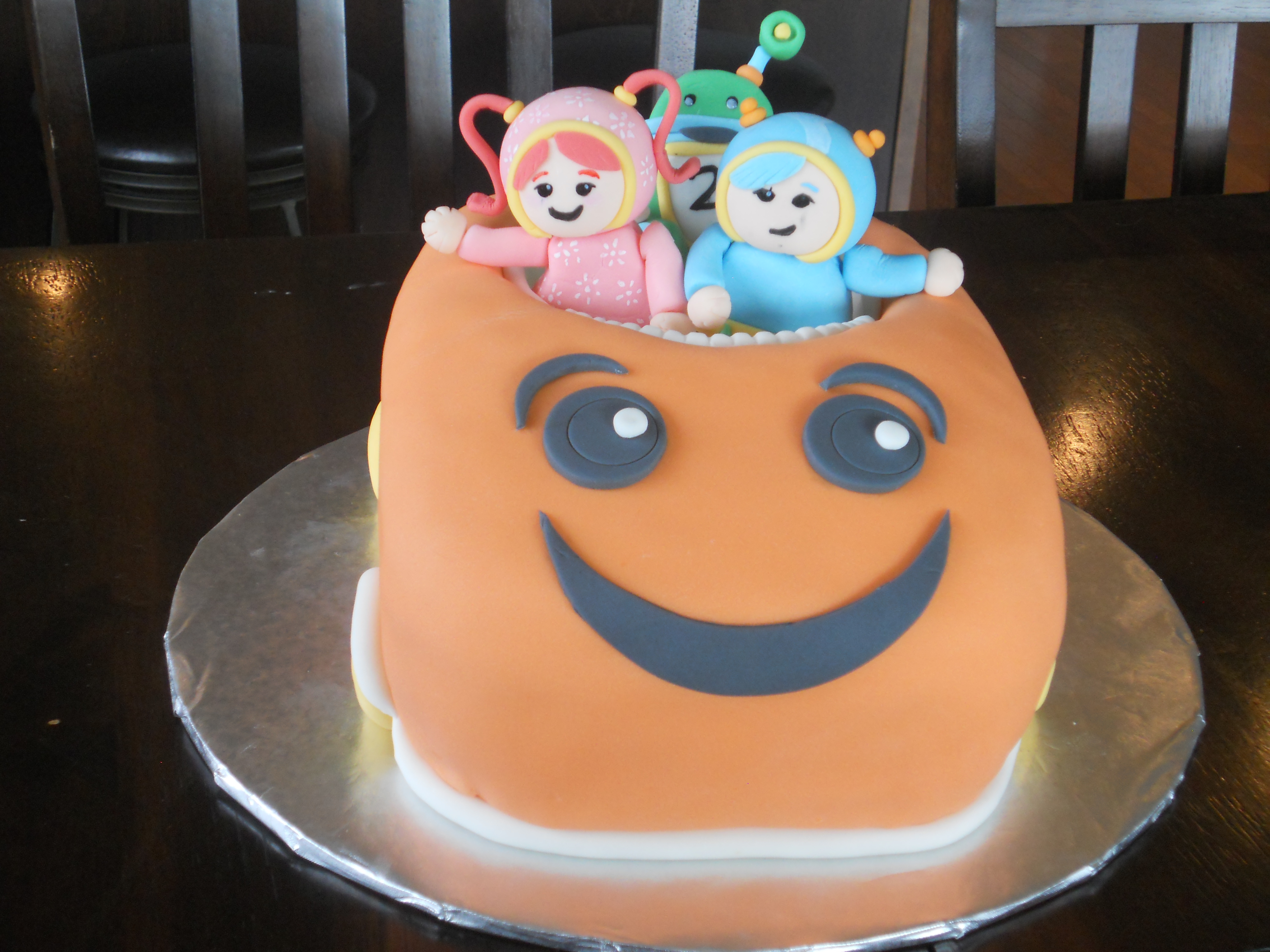 Team Umizoomi Cake A Little Of This And That