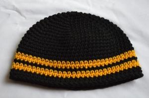 crochet toddler steelers beanie hat