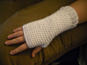 basic crochet fingerless mitts