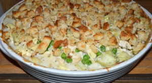 baked tortellini with chicken
