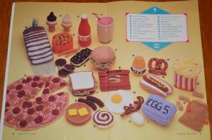crochet food booklet 2