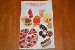 crochet toy food booklet annie's attic