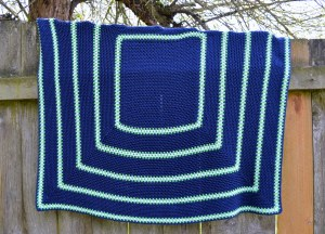 seahawks inspired picture perfect baby blanket2