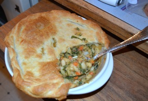 white beans and swiss chard pot pie 2
