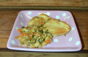 white beans and swiss chard pot pie