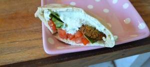 falafel with tzatziki2