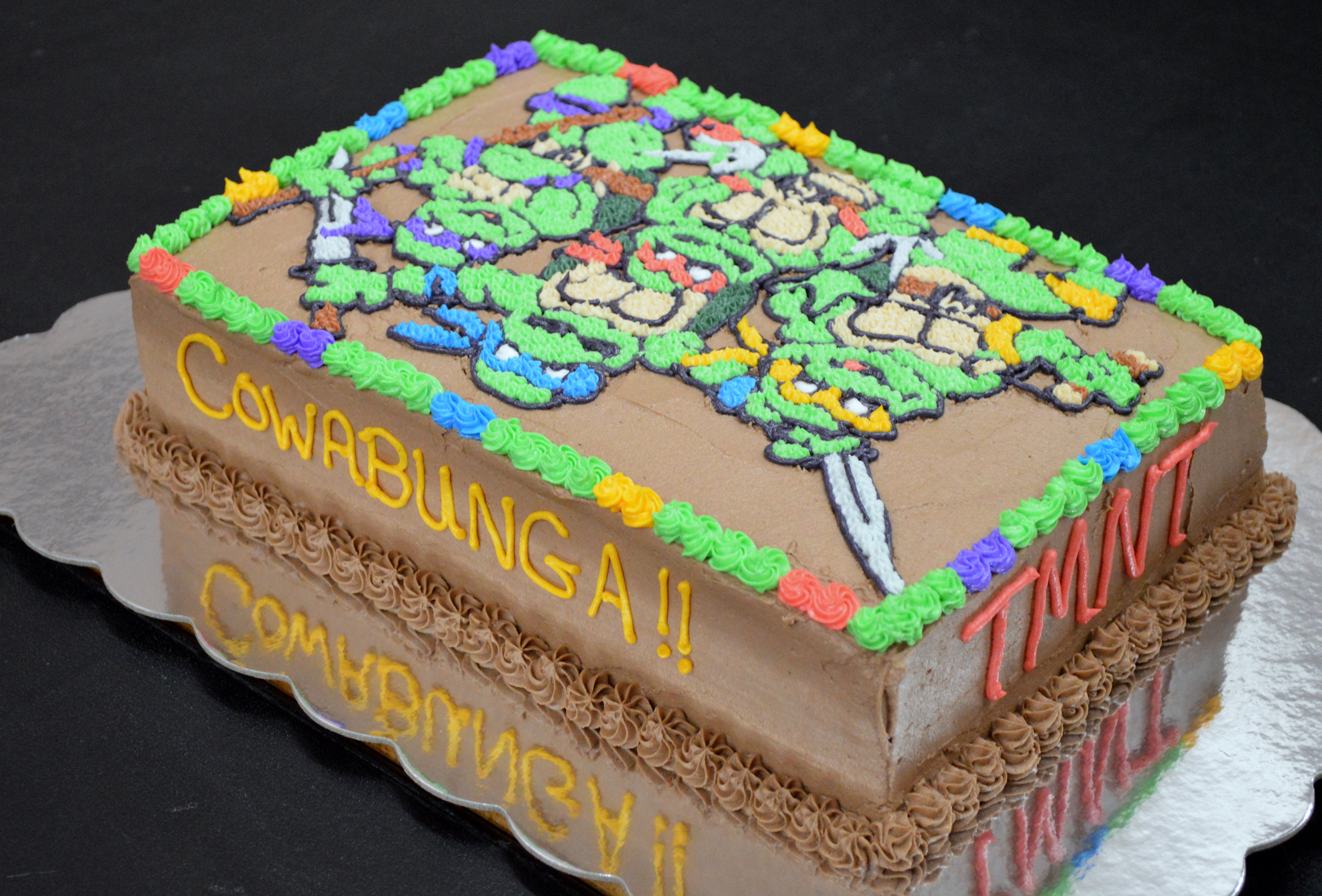 Teenage Mutant Ninja Turtle Cake A Little of This and a Little of That