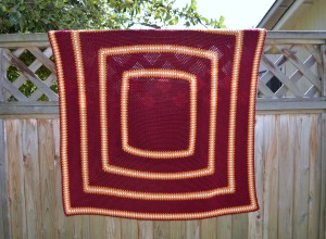 gryffindor picture perfect baby blanket