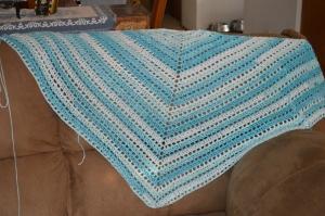 top down shawl