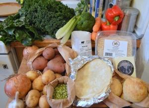 farmshare csa box acme farms & kitchen