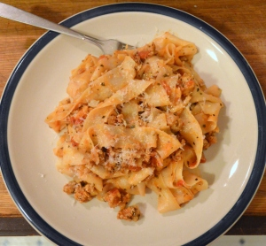 pork and pappardelle pasta 3
