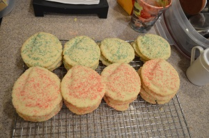 Cotton Candy Sugar Cookies