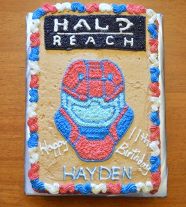 halo reach cake