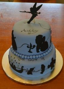 ashley disney cake