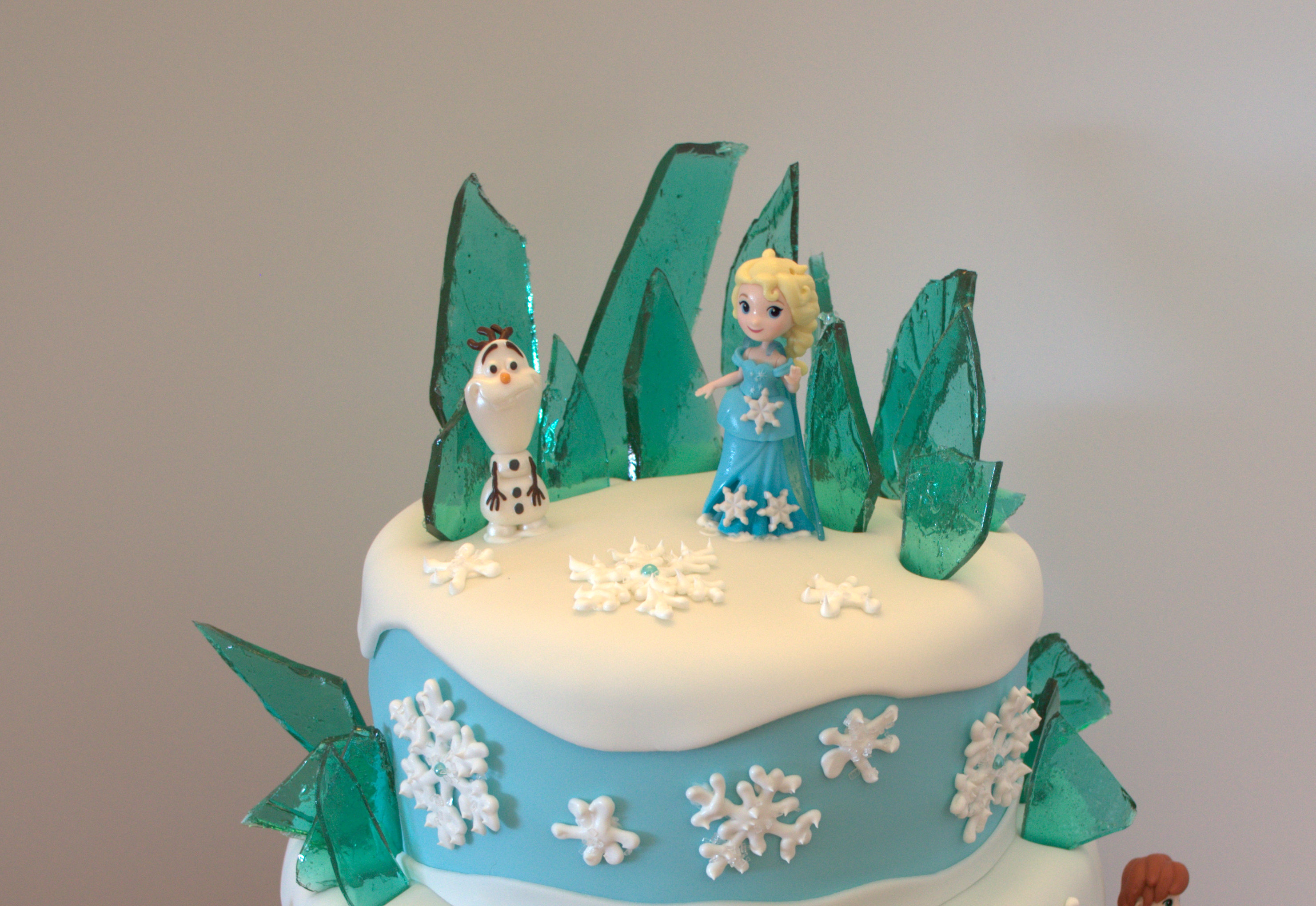 Frozen Themed Birthday Cake A Little Of This And A Little Of That