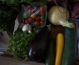 tomato eggplant zucchini