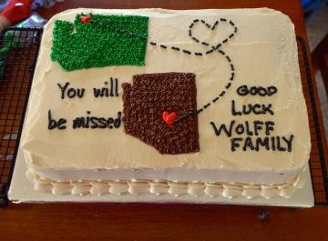 Tim's Good Luck Cake
