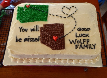 Tim's Good Luck Cake