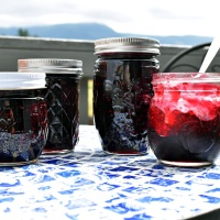 Mixed Berry Jam (raspberry, blackberry, blueberry)